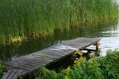 αποβάθρα Στοκ εικόνες με δικαίωμα ελεύθερης χρήσης
