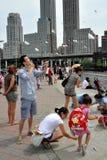 αποβάθρα 70 φεστιβάλ flynykite nyc στοκ εικόνα με δικαίωμα ελεύθερης χρήσης