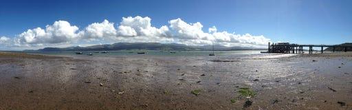 Αποβάθρα Baumaris, Anglesey Στοκ εικόνες με δικαίωμα ελεύθερης χρήσης