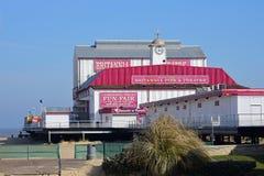 Αποβάθρα Britannia, Γκρέιτ Γιάρμουθ, Norfolk, UK στοκ εικόνα με δικαίωμα ελεύθερης χρήσης