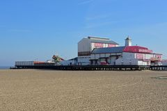 Αποβάθρα Britannia, Γκρέιτ Γιάρμουθ, Norfolk, UK στοκ φωτογραφία