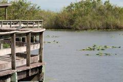Αποβάθρα Everglades Στοκ φωτογραφία με δικαίωμα ελεύθερης χρήσης