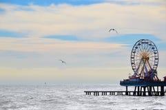 Αποβάθρα Galveston Στοκ φωτογραφία με δικαίωμα ελεύθερης χρήσης