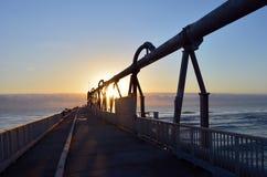 Αποβάθρα Gold Coast στον οβελό - Queensland Αυστραλία Στοκ εικόνα με δικαίωμα ελεύθερης χρήσης