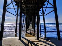Αποβάθρα Oceanside στοκ εικόνες