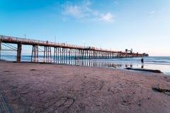 Αποβάθρα Oceanside Στοκ φωτογραφία με δικαίωμα ελεύθερης χρήσης