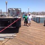 Αποβάθρα 2 Oceanside στοκ φωτογραφίες με δικαίωμα ελεύθερης χρήσης