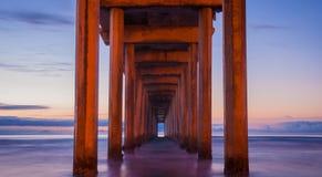 Αποβάθρα Scripps - Καλιφόρνια στοκ εικόνες με δικαίωμα ελεύθερης χρήσης