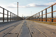 Αποβάθρα southend--θάλασσας, Essex, Αγγλία Στοκ φωτογραφία με δικαίωμα ελεύθερης χρήσης