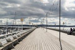 Αποβάθρα Torquay Στοκ φωτογραφίες με δικαίωμα ελεύθερης χρήσης