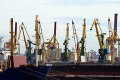 αποβάθρες Πετρούπολη ST Στοκ εικόνες με δικαίωμα ελεύθερης χρήσης