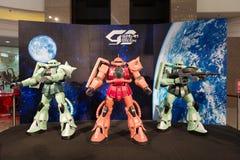 Αποβάθρες Gundam στο χρονικό τετράγωνο, Χονγκ Κονγκ στοκ φωτογραφία