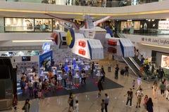 Αποβάθρες Gundam στο χρονικό τετράγωνο, Χονγκ Κονγκ στοκ φωτογραφία με δικαίωμα ελεύθερης χρήσης