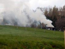 Αποβαλλόμενη καύση Στοκ εικόνες με δικαίωμα ελεύθερης χρήσης