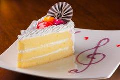 Αποβουτυρώστε το κέικ Στοκ φωτογραφία με δικαίωμα ελεύθερης χρήσης