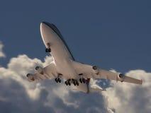 Απογείωση αεροπλάνων Στοκ φωτογραφία με δικαίωμα ελεύθερης χρήσης