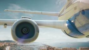 Απογείωση Κάννες Γαλλία αεροπλάνων φιλμ μικρού μήκους
