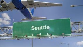 Απογείωση Σιάτλ αεροπλάνων φιλμ μικρού μήκους