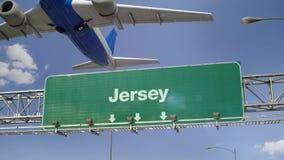 Απογείωση Τζέρσεϋ αεροπλάνων φιλμ μικρού μήκους