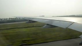 Απογείωση της Κουάλα Λουμπούρ αερολιμένων απόθεμα βίντεο
