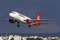 Απογείωση της Μάλτας αέρα Στοκ εικόνα με δικαίωμα ελεύθερης χρήσης