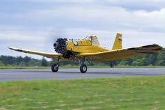 Απογείωση του αεροπλάνου Στοκ Εικόνες