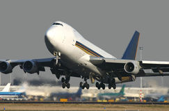 απογείωση 747 Στοκ εικόνες με δικαίωμα ελεύθερης χρήσης