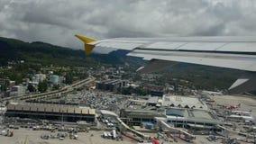 Απογείωση Airplaner Στοκ φωτογραφία με δικαίωμα ελεύθερης χρήσης