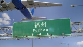 Απογείωση Fuzhou αεροπλάνων απόθεμα βίντεο