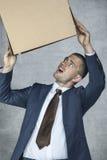 Απογοητευμένος επιχειρηματίας Στοκ Φωτογραφίες
