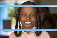 Αποδεικτική εκδοτική εικόνα Παιδί στο σχολείο Στοκ φωτογραφία με δικαίωμα ελεύθερης χρήσης