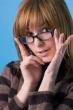 αποδεχθείτε τα γυαλιά ι Στοκ εικόνα με δικαίωμα ελεύθερης χρήσης