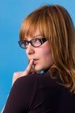 αποδεχθείτε τα γυαλιά &iot Στοκ Φωτογραφία