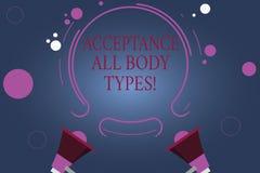 Αποδοχή κειμένων γραψίματος λέξης όλοι οι τύποι σώματος Η επιχειρησιακή έννοια για τον αυτοσεβασμό δεν κρίνει την παρουσίαση για  απεικόνιση αποθεμάτων