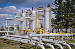 αποθήκευση αγωγών υγραερίου Στοκ φωτογραφίες με δικαίωμα ελεύθερης χρήσης
