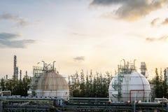 Αποθήκευση αερίου Στοκ Εικόνες