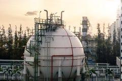 Αποθήκευση αερίου Στοκ φωτογραφία με δικαίωμα ελεύθερης χρήσης