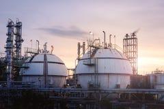 Αποθήκευση αερίου Στοκ Φωτογραφία