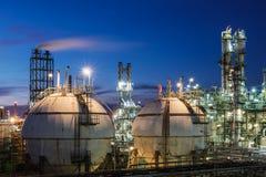 Αποθήκευση αερίου Στοκ φωτογραφίες με δικαίωμα ελεύθερης χρήσης
