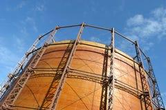 αποθήκευση αερίου Στοκ Φωτογραφίες