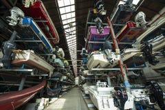 Αποθήκευση για τις βάρκες Στοκ φωτογραφίες με δικαίωμα ελεύθερης χρήσης