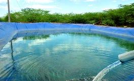 Αποθήκευση νερού γεωργίας στοκ φωτογραφία με δικαίωμα ελεύθερης χρήσης