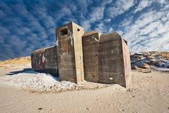 αποθήκη δανικά παραλιών Στοκ φωτογραφίες με δικαίωμα ελεύθερης χρήσης