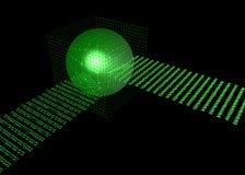αποθήκη εμπορευμάτων βάσεων δεδομένων στοιχείων διανυσματική απεικόνιση