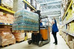αποθήκη εμπορευμάτων δι&alph Στοκ εικόνες με δικαίωμα ελεύθερης χρήσης