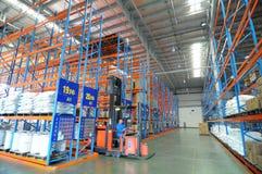 αποθήκη εμπορευμάτων δι&omic στοκ φωτογραφία με δικαίωμα ελεύθερης χρήσης