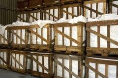 αποθήκη εμπορευμάτων κλουβιών Στοκ εικόνα με δικαίωμα ελεύθερης χρήσης