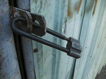 Αποθήκη εμπορευμάτων κλειδαριών Στοκ Εικόνες
