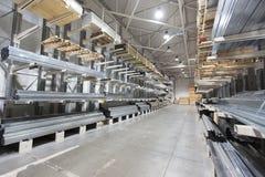 Αποθήκη εμπορευμάτων δομικού υλικού Στοκ Φωτογραφία