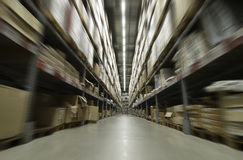 αποθήκη εμπορευμάτων Στοκ φωτογραφίες με δικαίωμα ελεύθερης χρήσης